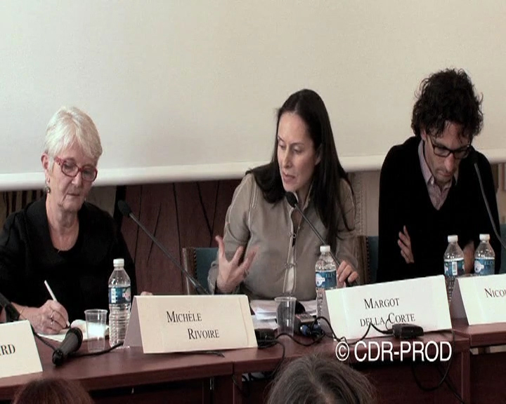 Colloque Psychanalyse, Margot Delle Corte